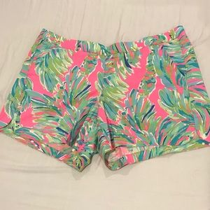 NWOT Lilly Pulitzer Shady Lady Ocean View Short, L